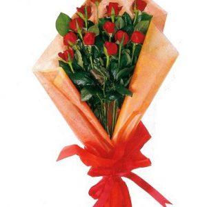 Ανθοδέσμη με Κόκκινα Τριαντάφυλλα