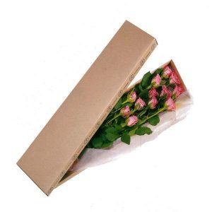 Κουτί με ροζ Τριαντάφυλλα