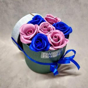Bubbles – Classic – Μπλε Ρουά και Σάπιο Μήλο Τριαντάφυλλα